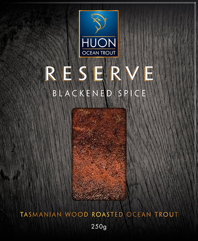 Reserve Blackened Spice Wood Roasted Ocean Trout