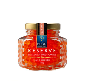 Reserve Hand Milked Ocean Trout Caviar