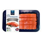Load image into Gallery viewer, Premium Fresh Huon Salmon Portions 4 Pack - Skin On