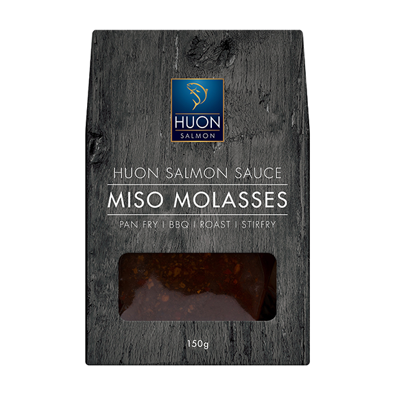 Huon Salmon Sauce - Miso Molasses