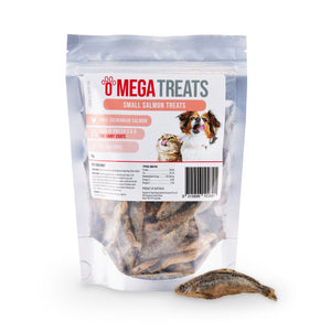 Omega Treats Small Salmon Treats Multipack