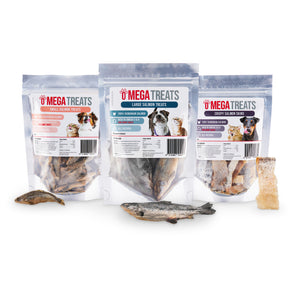 Omega Treats Freeze Dried Salmon Taster Pack