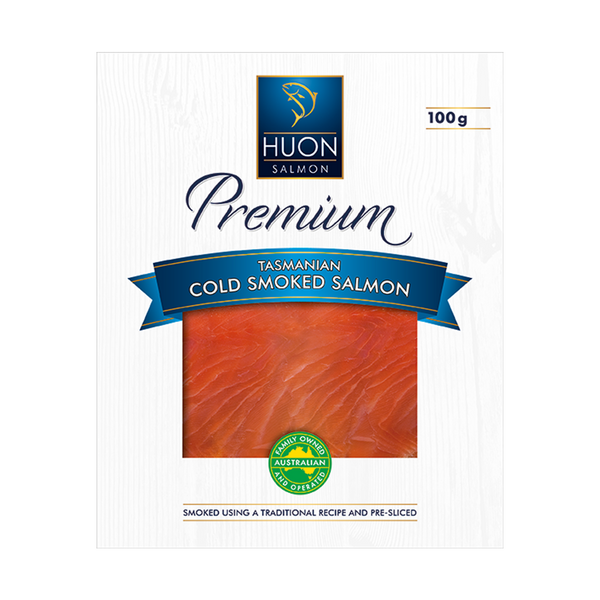 Premium Cold Smoked Salmon