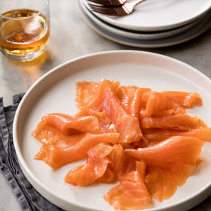 Premium Whisky Cured Cold Smoked Salmon