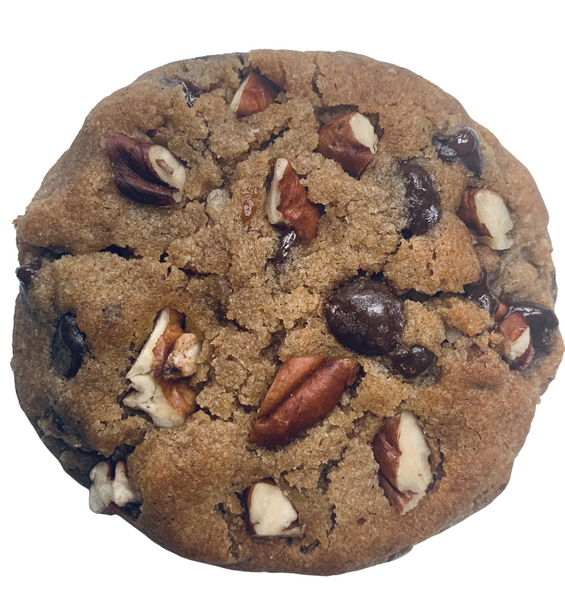 Lo-Low Maple Pecan Chocolate Chip Cookie
