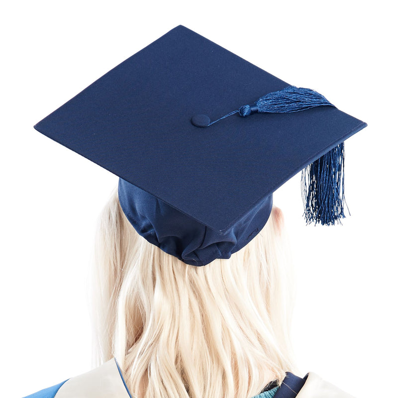 Navy Mortarboard (Hire)