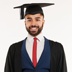 Bachelors Gown and Mortarboard Set (Hire)