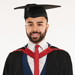 University of Derby Masters Graduation Set
