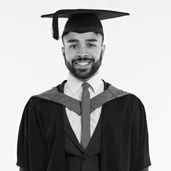 Loughborough University First Degree Masters Graduation Set