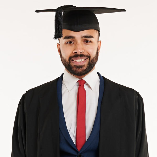 Masters Gown and Mortarboard Set (Hire)