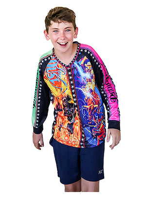 Kids Crazy Clown Jersey