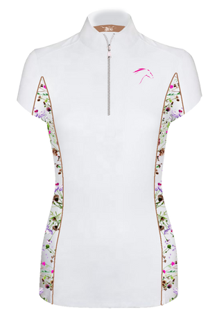 Wildflower Equestrian Shirt Short Sleeve