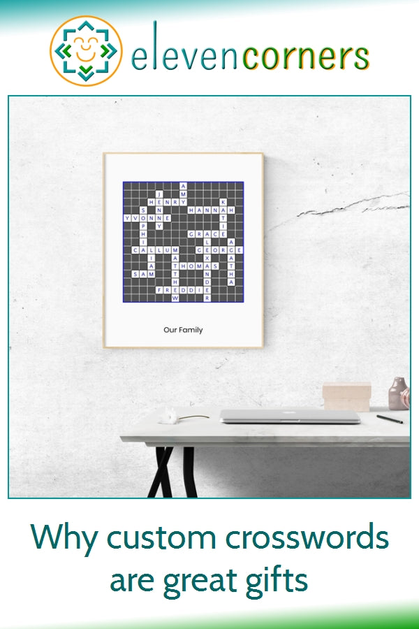 Why custom crosswords are great gifts