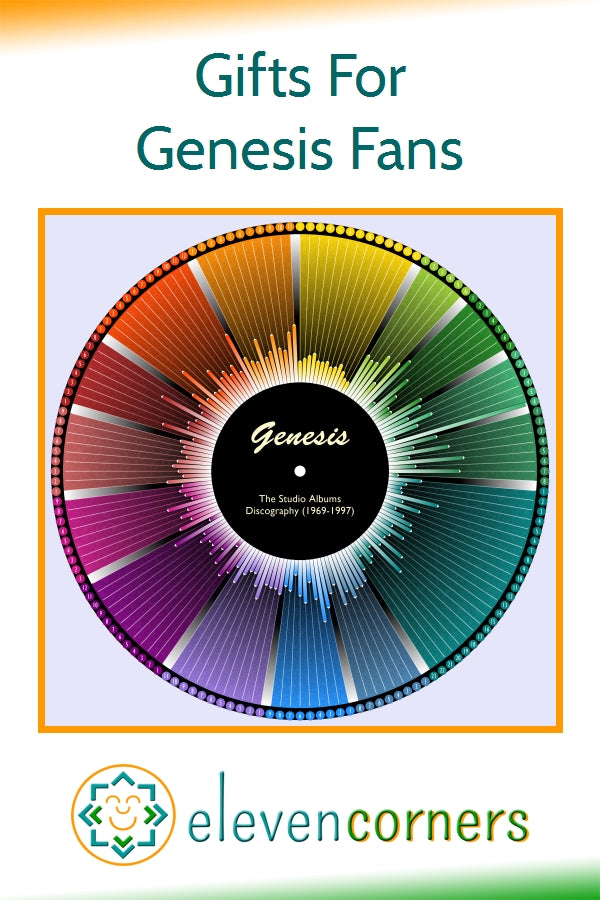 Unique gifts for Genesis fans
