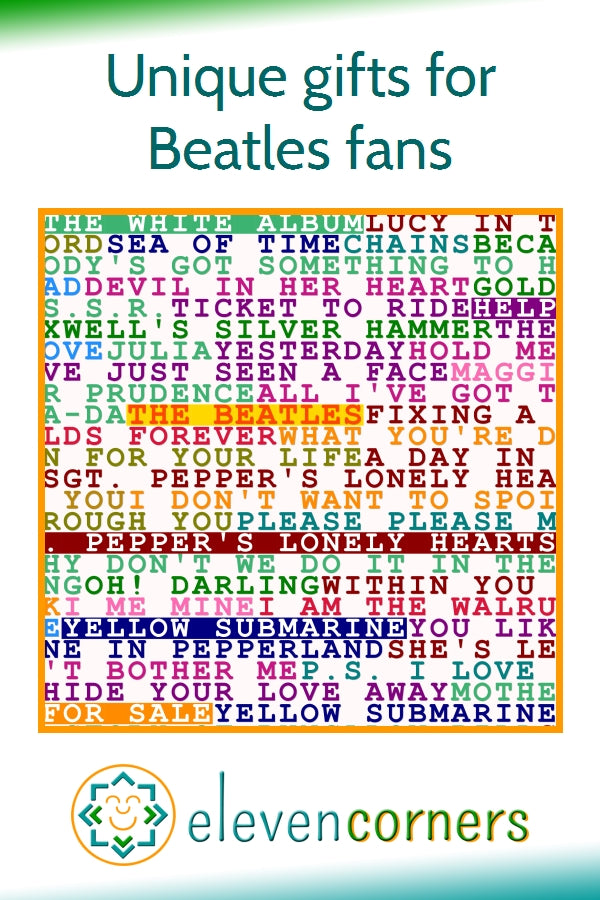 Unique gift ideas for fans of The Beatles