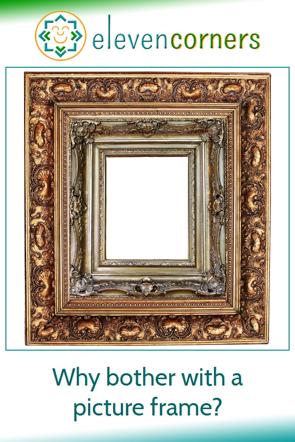 Why are picture frames important?