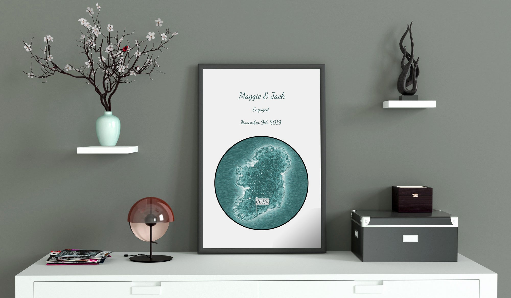 Personalised Engagement Prints
