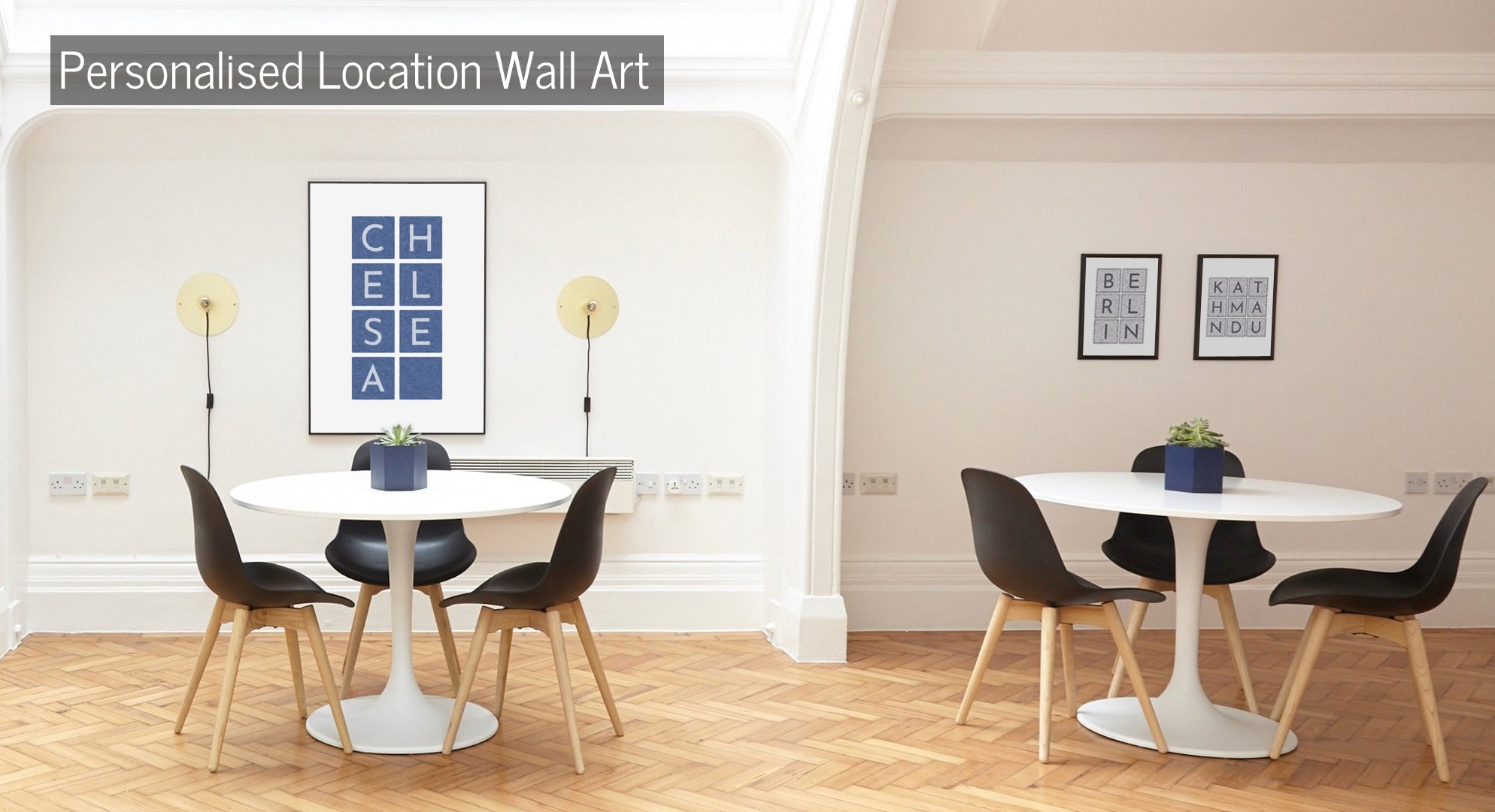 Personalised Location Wall Art