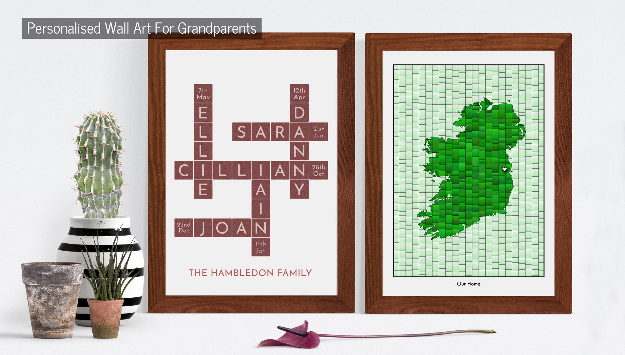 Personalised Prints For Grandparents
