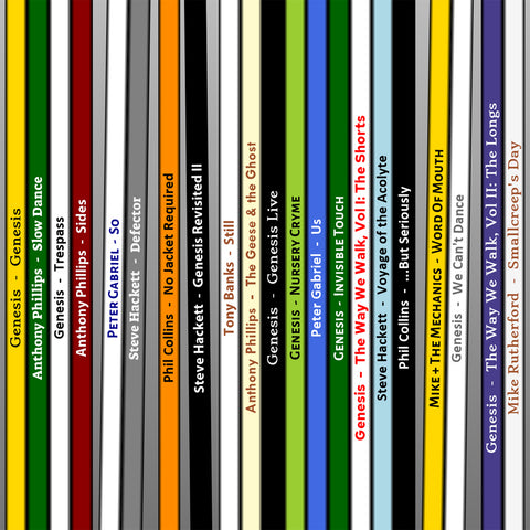 Genesis Record Collection Print - close up