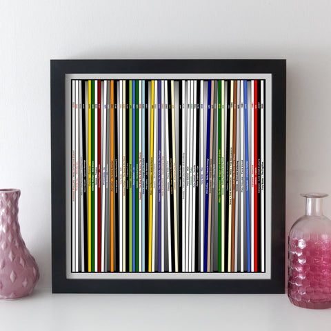 Genesis Record Collection Print