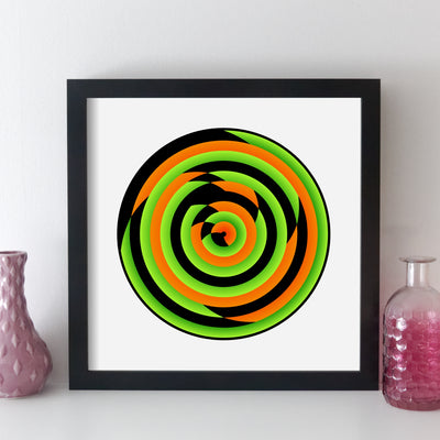 Personalised Favourite Music Album Print - circle style