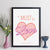 It Must Be Love Personalised Song Print