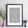 Personalised Quote Print - Contemporary Script