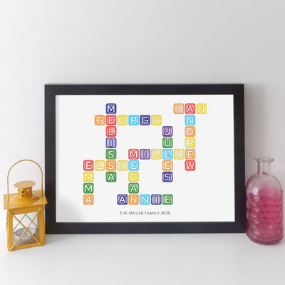 elevencorners family names crossword - rainbow