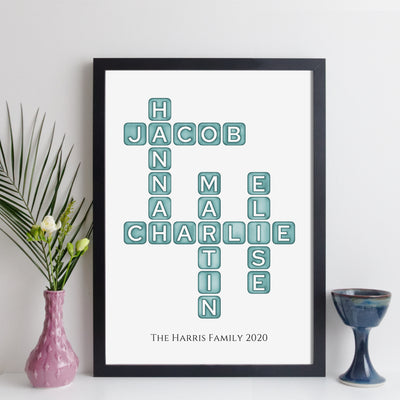 elevencorners family names crossword - aqua