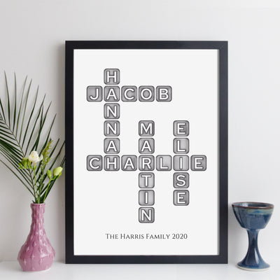 elevencorners family names crossword - grey