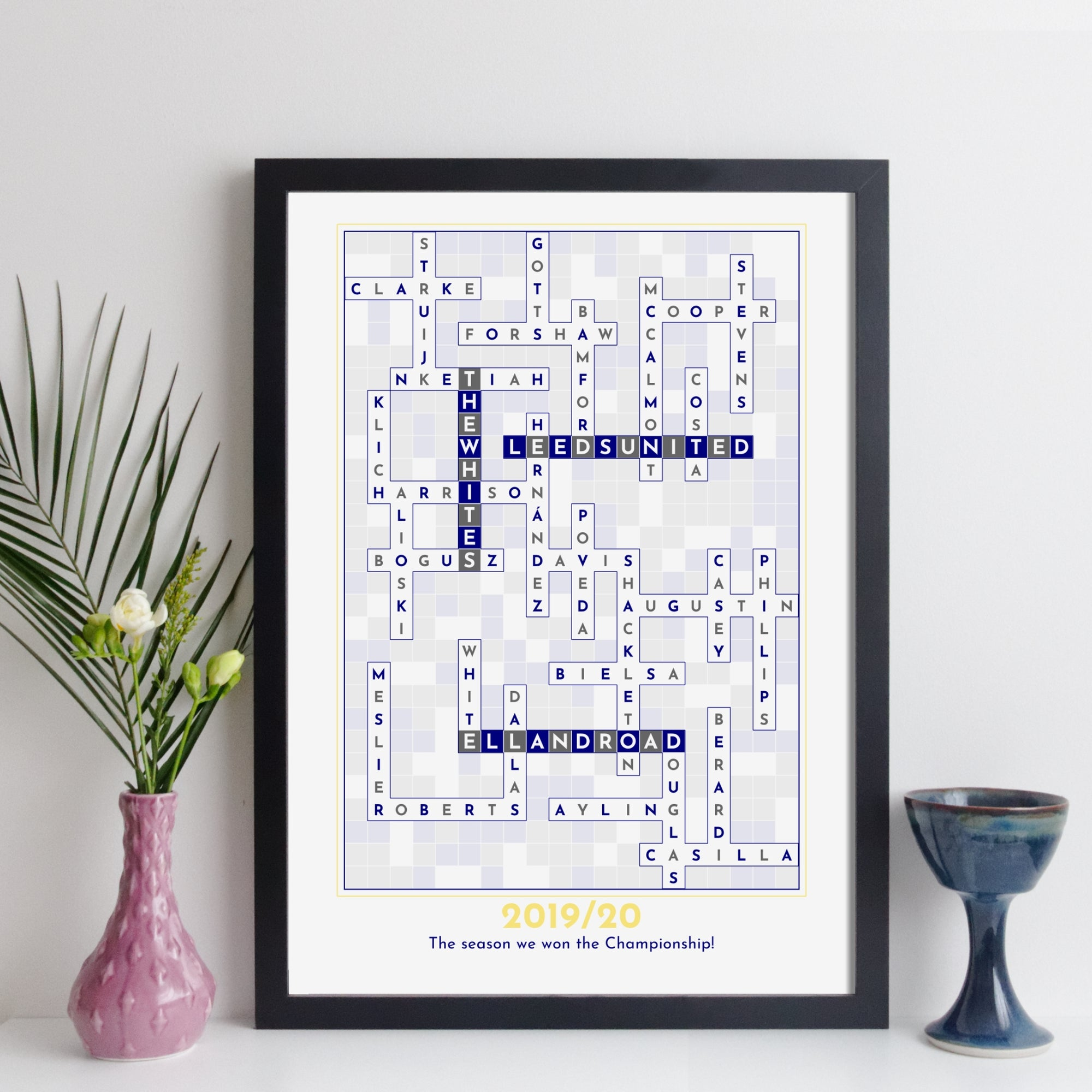 Leeds United Crossword Print