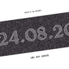 Personalised Date Print - Antique