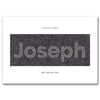 Personalised Name Print - Modern