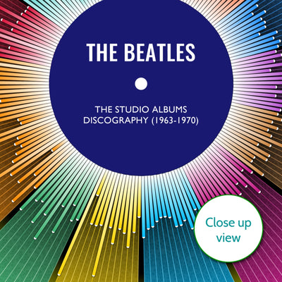 The Beatles Discography Print - Wheel
