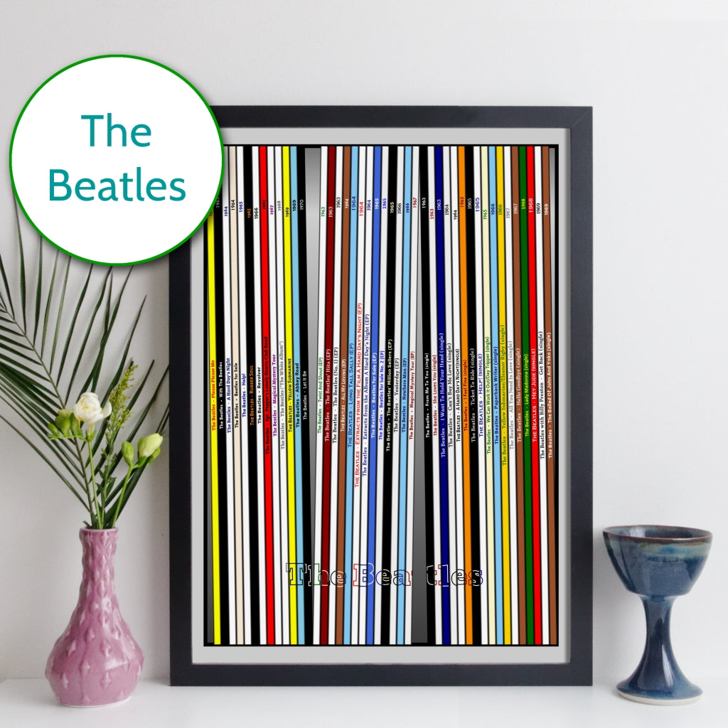 The Beatles Discography Print