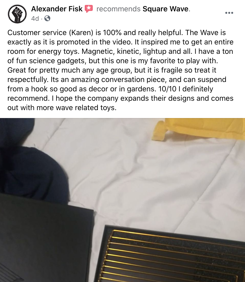 kinetrika reviews from facebook