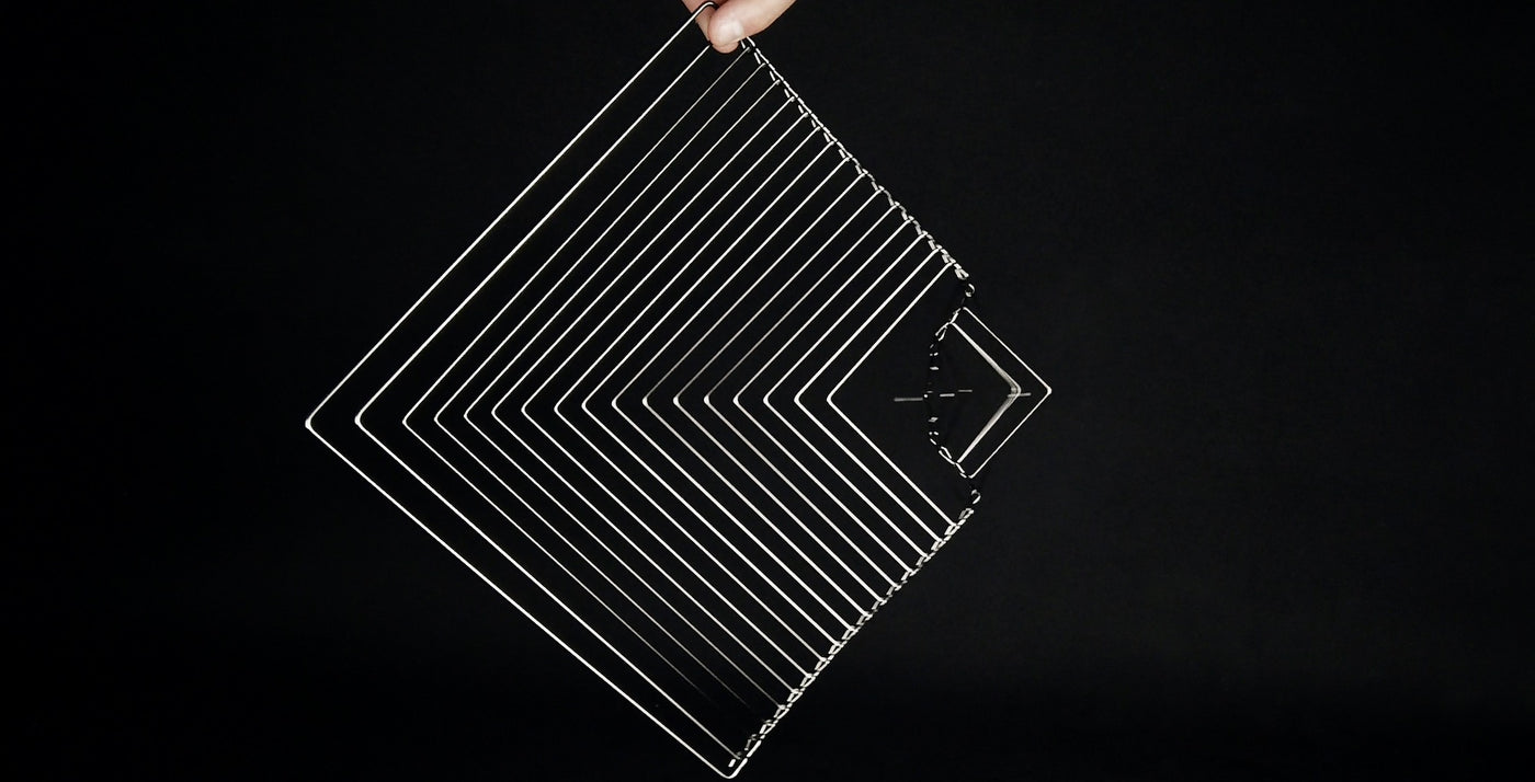 Square Wave Silver Edition By Ivan Black For Kinetrika
