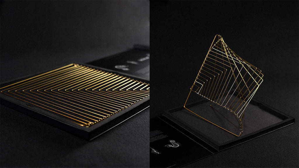 The perfect surprise for a design lover: Square Wave comes in a stylish and  tasteful black packaging