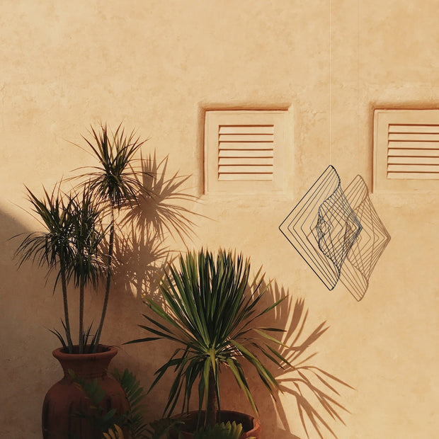 Square Wave Outdoor decorative art