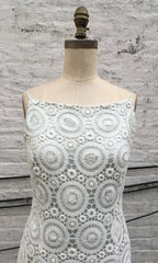 Crochet Lace Classic Sheath Dress