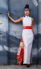 Modern Cheongsam Column Dress