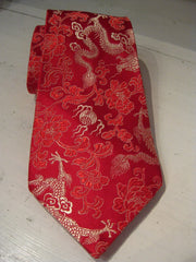 Dragon Brocade Men's Necktie