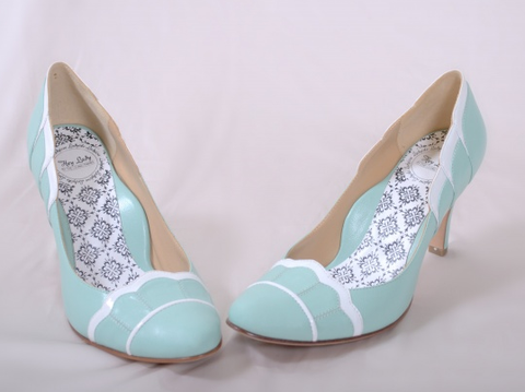 """At Tiffany"" Vintage-Inspired Shoes"