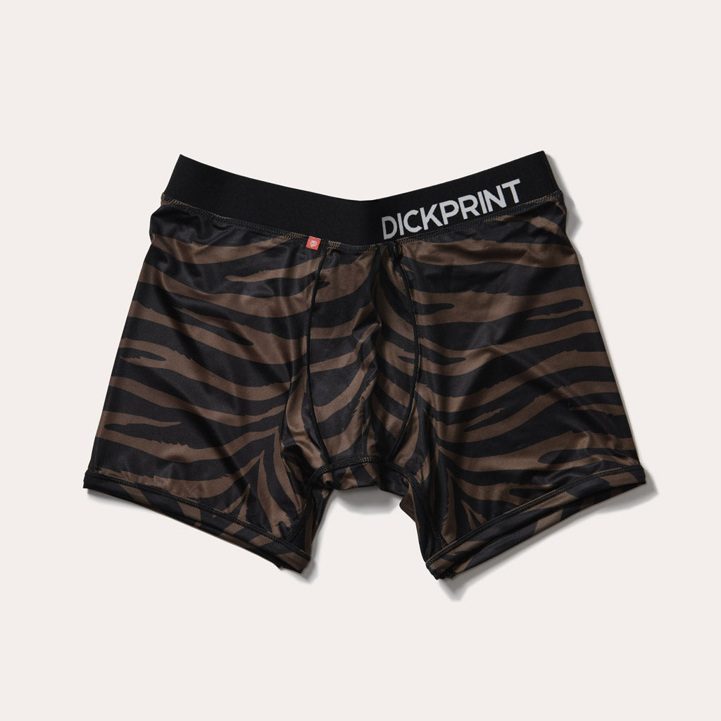 Luxe Life Boxer Brief - Black Tiger