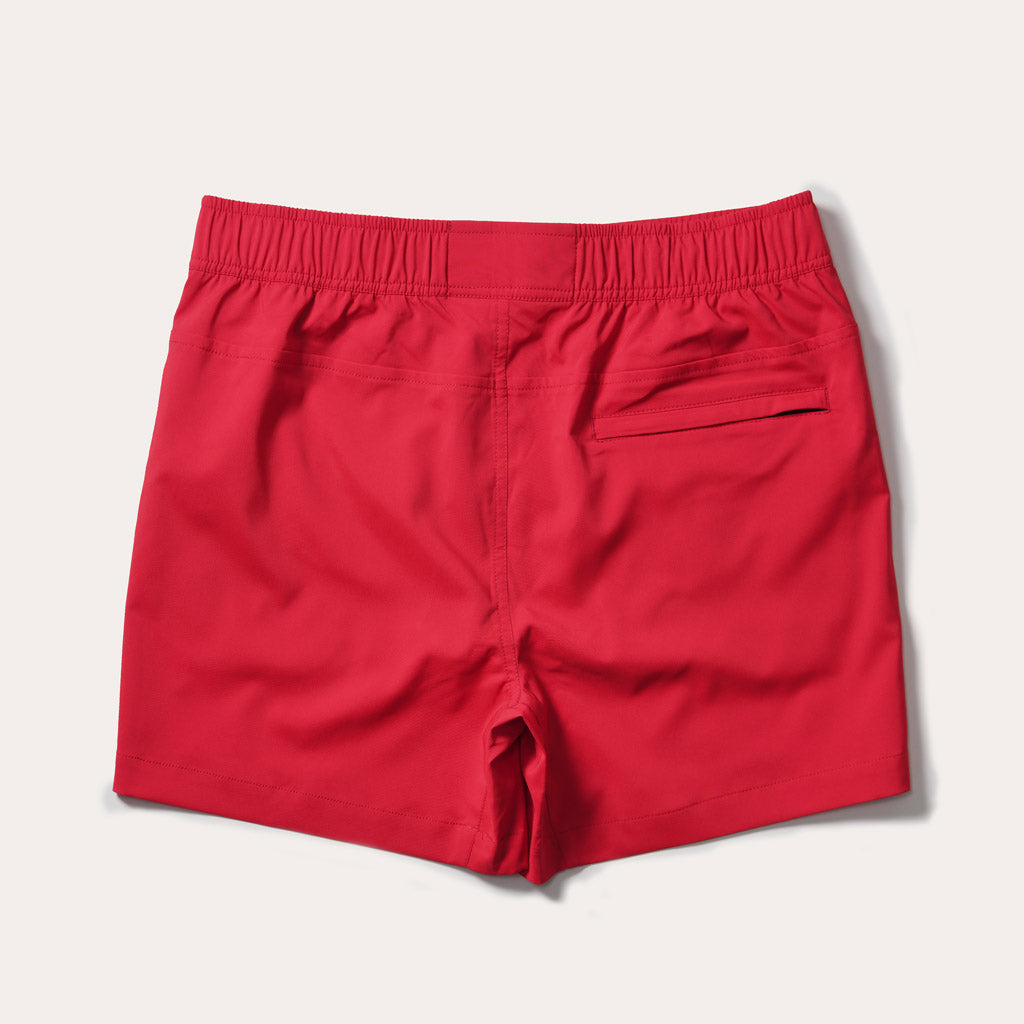 Malibu Swim Trunk, Red