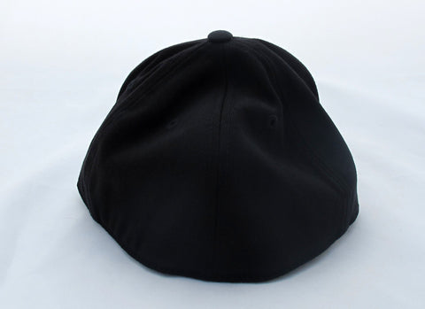 ReelFowl Flat Bill Hat - Black