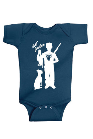 Lil Fowler Boys Onesie - Black or Navy
