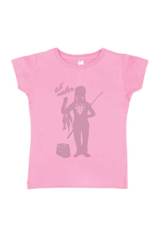 Lil Reeler Girls Toddler - Pink or Heather