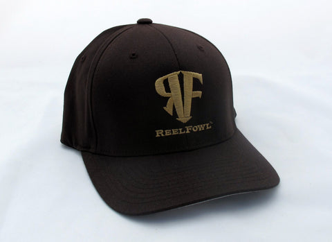 ReelFowl Flex Fit Hat - Brown